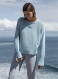 Tiffany Long Sleeve Sweater | Cloud