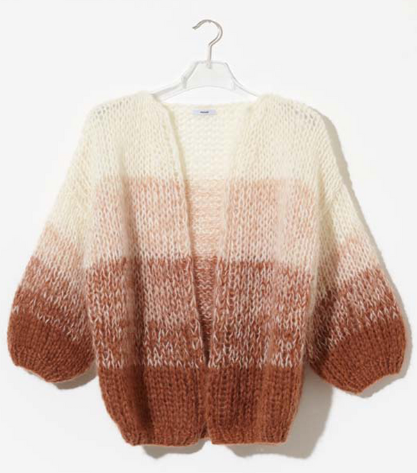 Ombre Big Cardigan