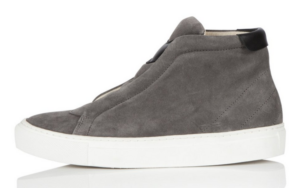 Phantom Slip-on Sneaker in Slate Suede
