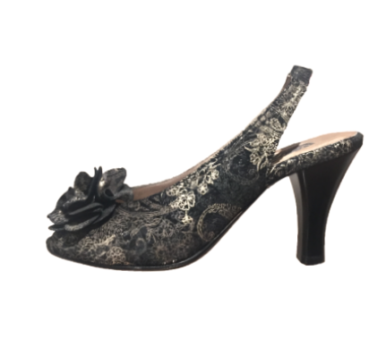 Regina Slingback in Black Onyx
