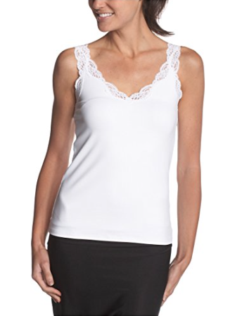 Delicious with Lace 'V' Tank