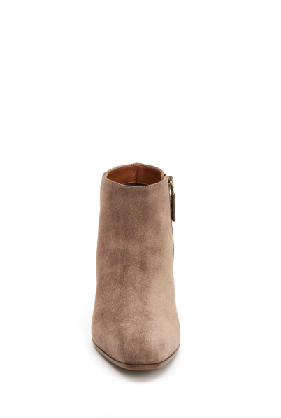 Fuoco Suede Bootie | Taupe