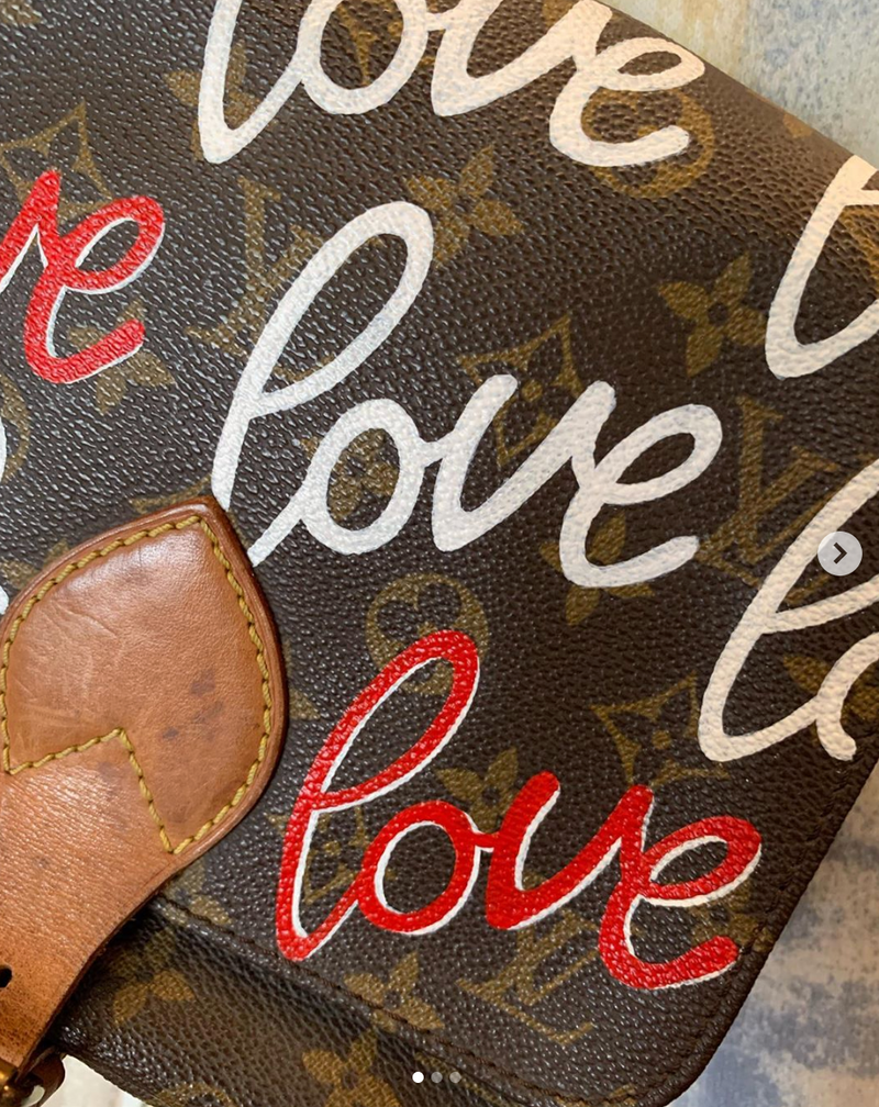 Vintage Louis Vuitton Cartouchiere MM Bag | Hearts Love