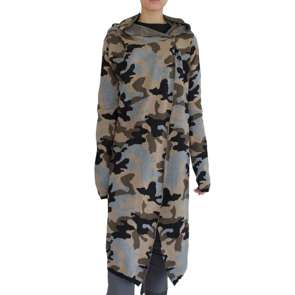 Strauss Hoodie Cardigan | Camouflage
