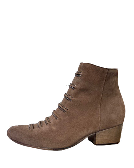 Tiba Short Bootie | Dark Earth