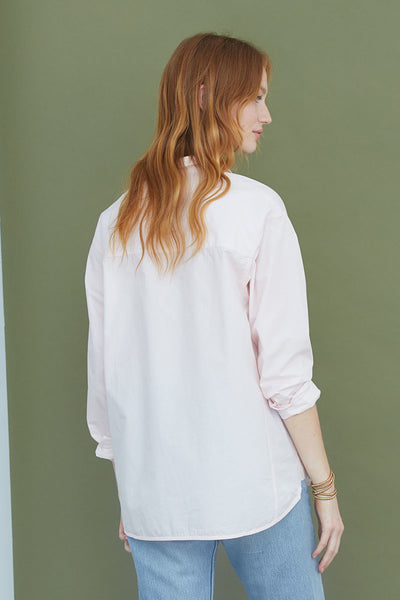 Roy Blouse | Mauve Chalk