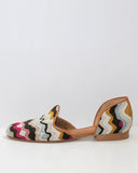 Madison D'Orsay Flat | Black Multi