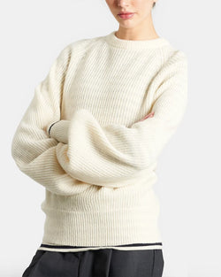 Sabrina Sweater | White