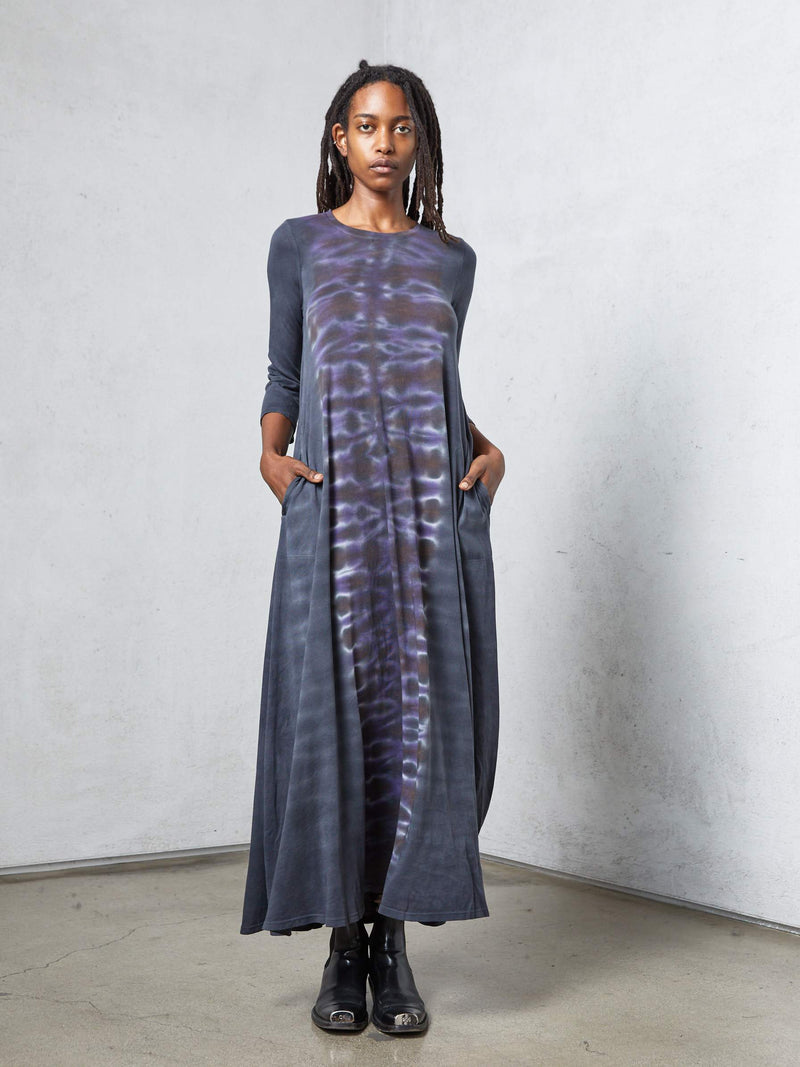 Half Sleeve Drama Maxi | Night Out Orchid