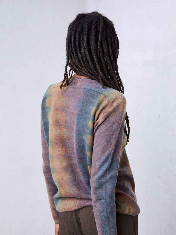 Dusty Rainbow Cashmere Crew Neck
