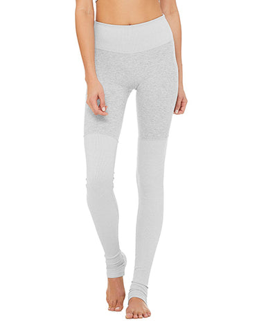 Alosoft High Waist Goddess Legging | Zinc Heather