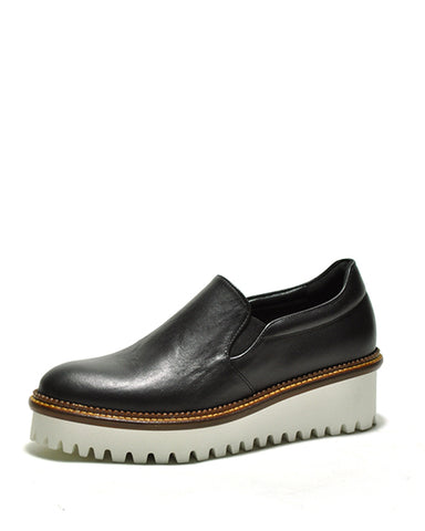 Alani Slip On Flatform | Black