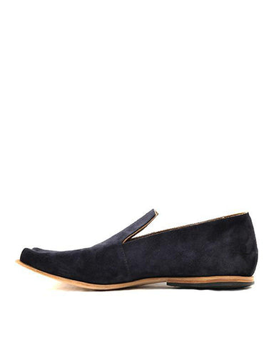 Batten Suede Loafer | Navy