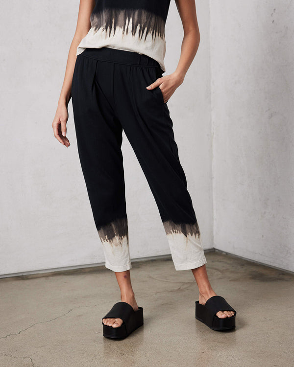 Tie Dye Easy Pant | Black Horizon