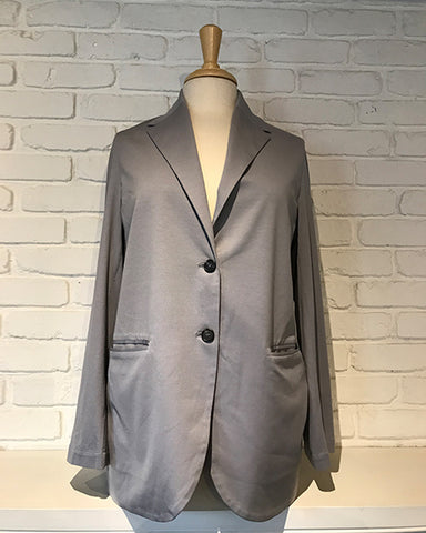 Brushed Cotton Blazer