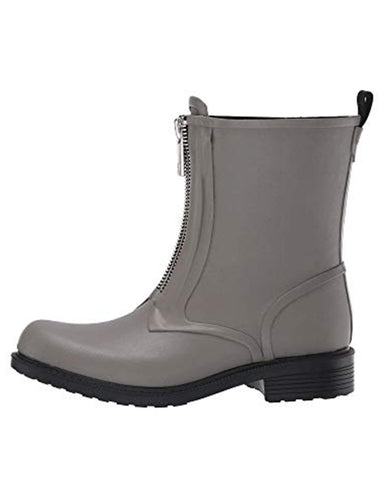 Storm Zip Rain Boot | Grey
