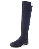 Bunt Waterproof Over The Knee Boot | Deep Blue