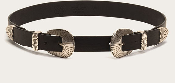 ELLEN BUCKLE BELT | BLACK