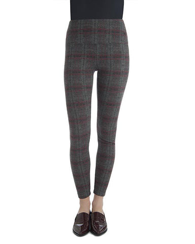 Center Seam Ponte | Camden Plaid