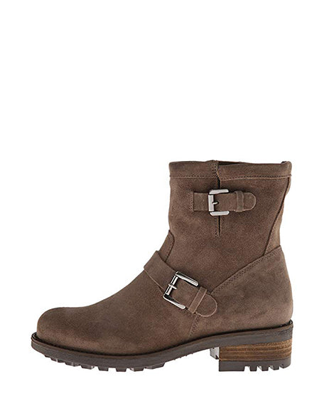 Charlotte Weatherproof Boot | Stone Oiled Suede