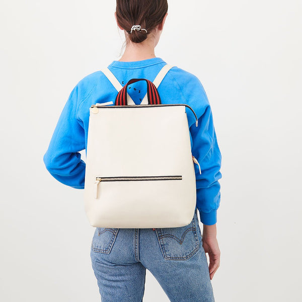 Remi Backpack | Rustic White