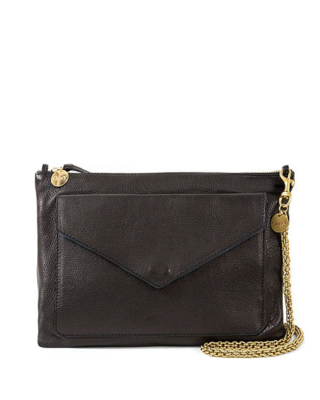 Clem Crossbody Clutch | Black