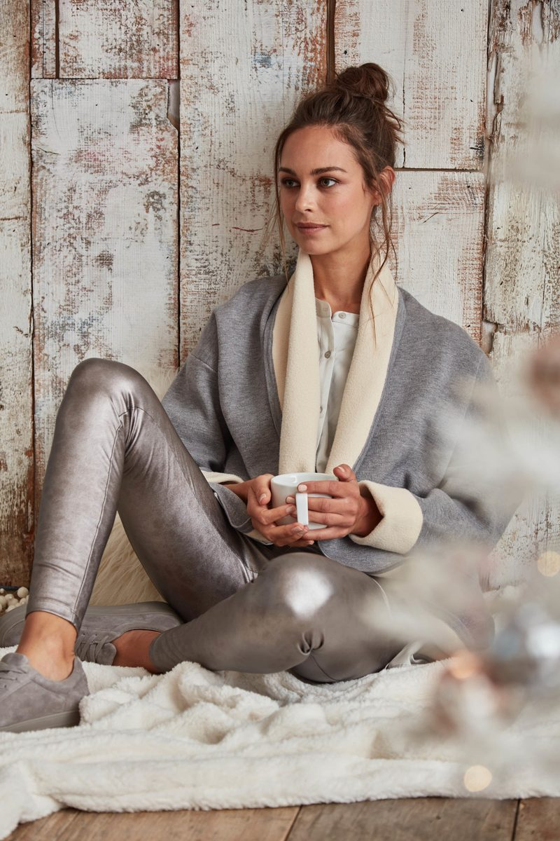 Fireside Cardigan | Grey Melange