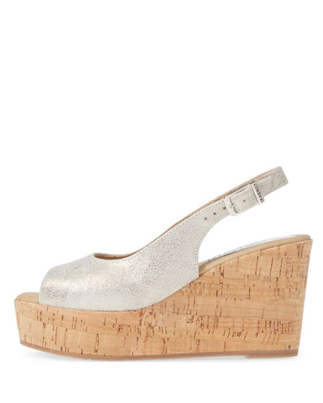 Janey Wedge | Silver