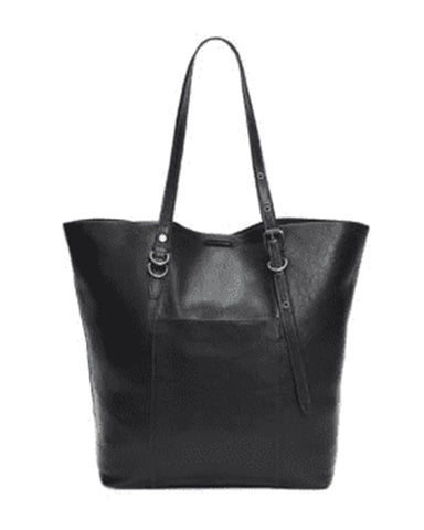 Gia Simple Tote | Black