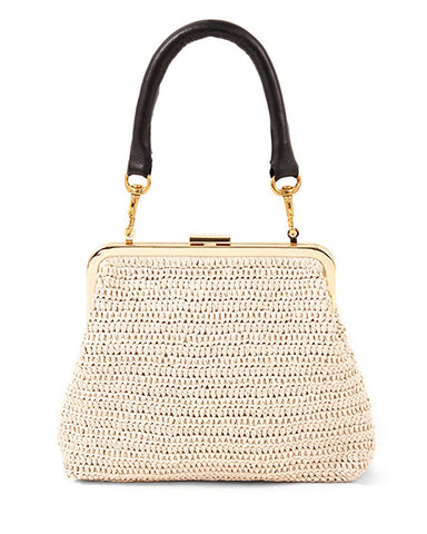 Flore Raffia Bag | Cream