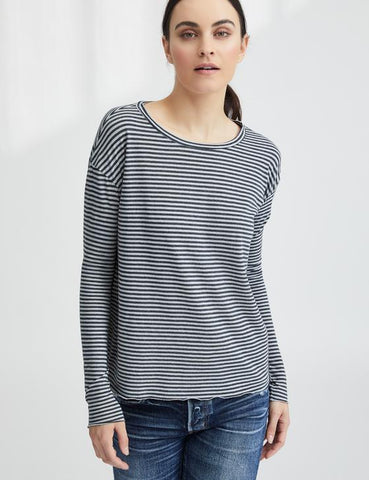Core Long Sleeve Tee | Dime Stripe