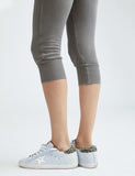 Super Crop Sweatpant | Earthy