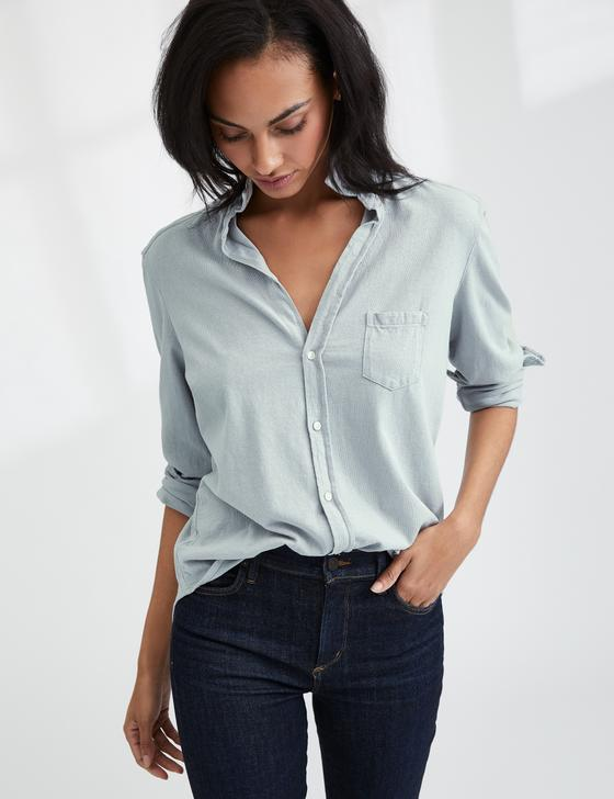 Lab Eileen Button Down | Grey Area