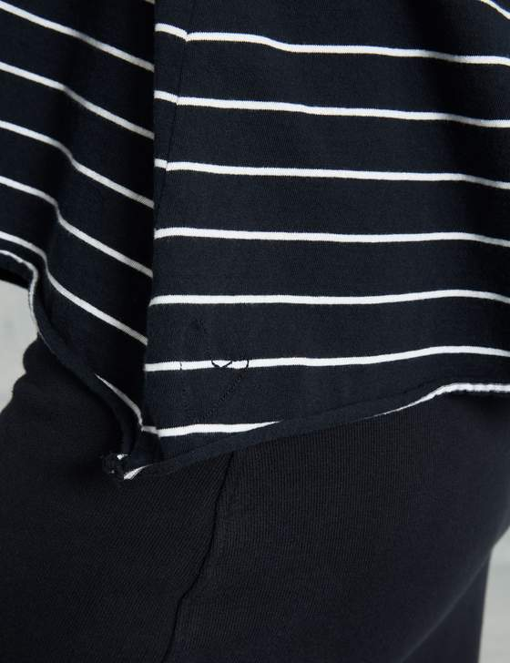 Core Half Sleeve Tee | British Royal Navy Stripe
