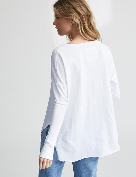 Relaxed Long Sleeve | Whiteout