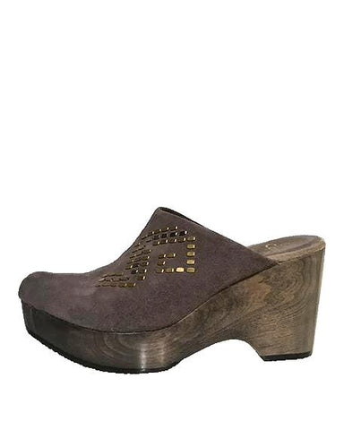 Geshna Wedge | Morel Grey