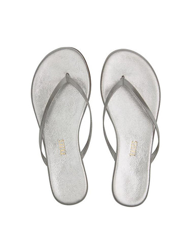 Glitters Leather Flip Flop | Gleam