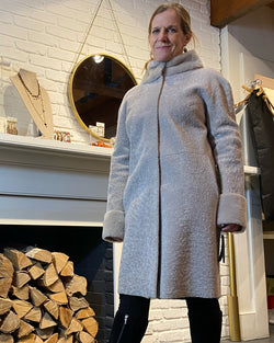 Niomi Reversible Coat | Griege