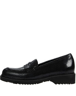 Hepburn Loafer | Black Snake