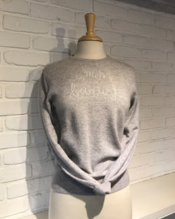 'I Miss Barack' Sweater | Smoke & Ivory