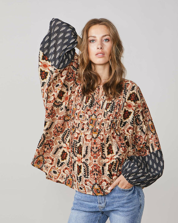 Boxy Blouse | Indian Summer