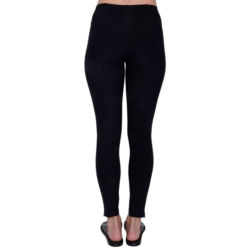Ita Side Zip Legging | Black