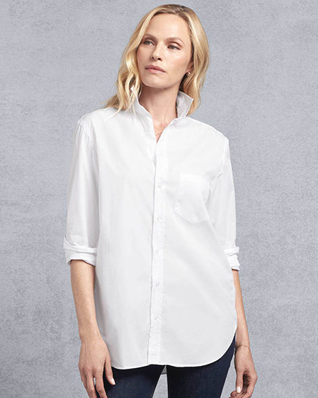 Joedy Superfine Button Down | White