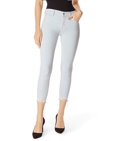 835 Mid-Rise Cropped Skinny | Laser Beam Destruct