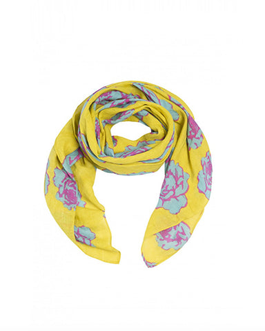 Lemon Rose Scarf