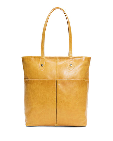 Melissa Simple Tote Bag | Beige