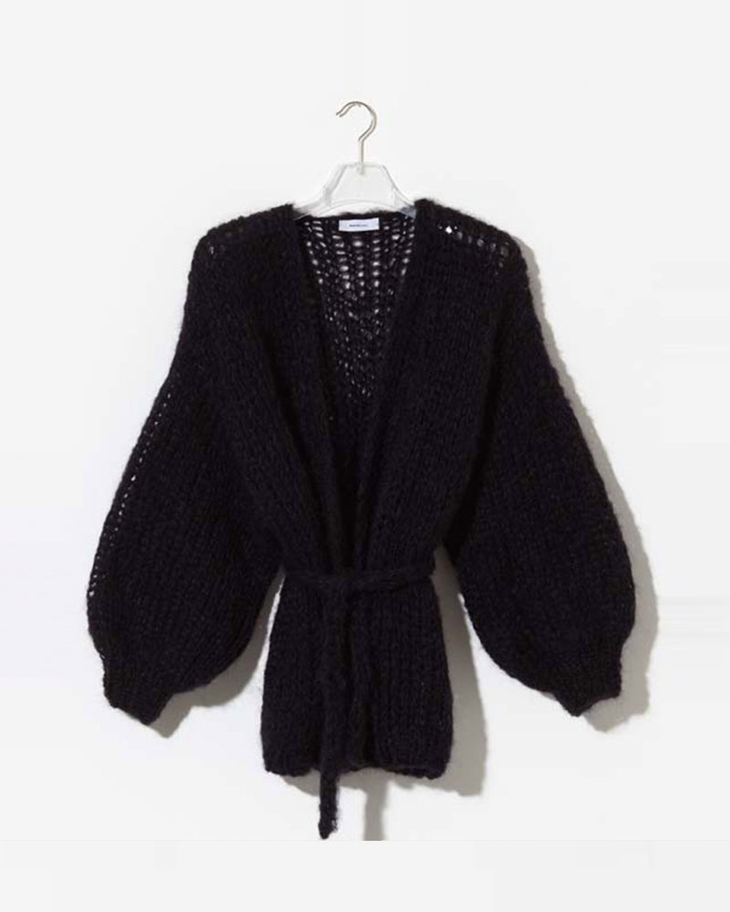 Oversized V Neck Cardigan