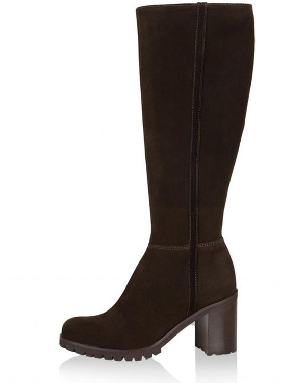 Pickering Suede Tall Boot | Brown