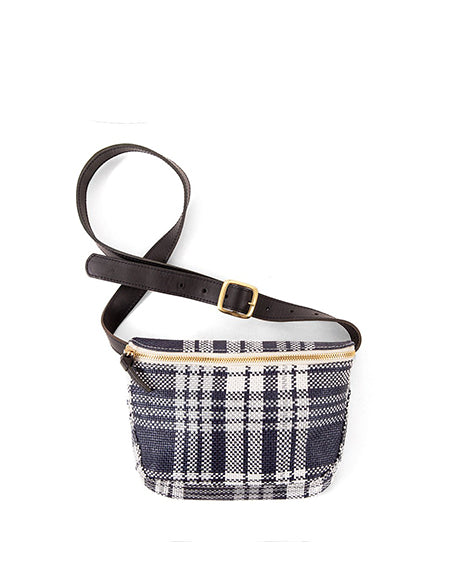 Fannypack | Navy Plaid