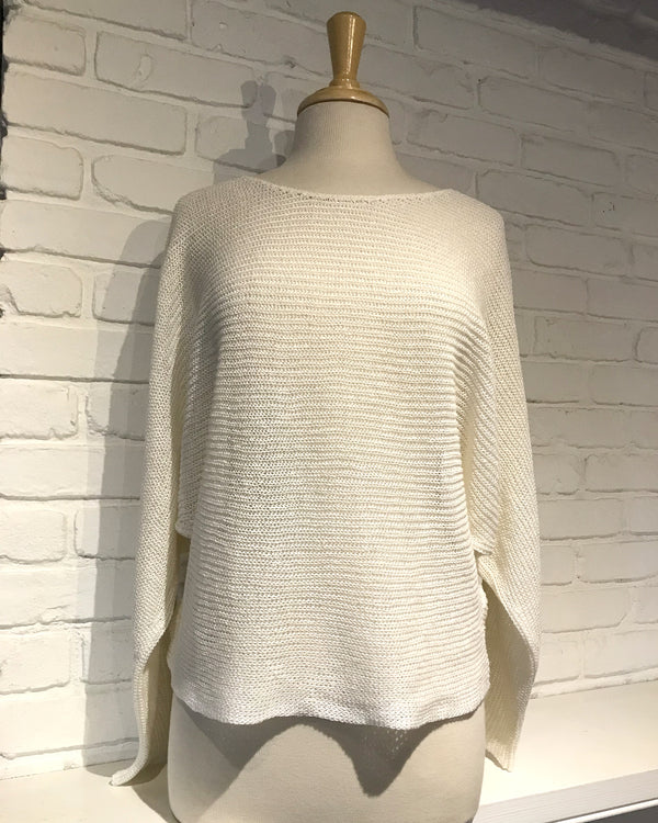 Noreen Flowy Sweater | Off White